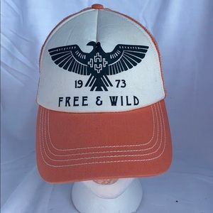 Billabong Free & Wild Pit Stop Truckers Hat Pink